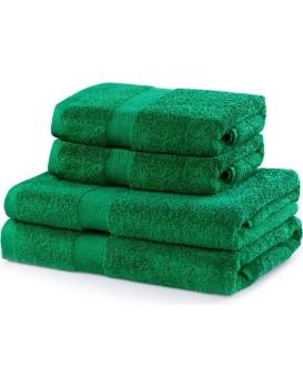 Súprava zelených uterákov DecoKing Niki
