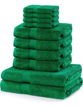 Súprava uterákov DecoKing Kunis zelená