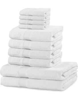 Súprava uterákov DecoKing Kunis biela