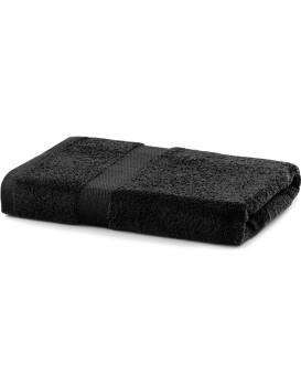 Bavlnený uterák DecoKing Maria čierny