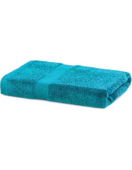 Bavlnený uterák DecoKing Mila 70 × 140 cm tyrkysový