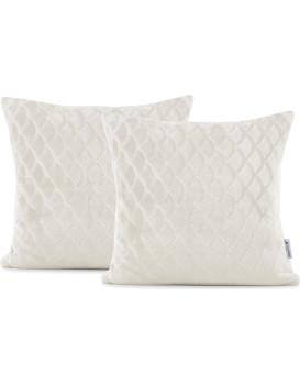 Povlaky na polštáře DecoKing Sardi krémové