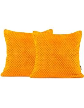Obliečka na vankúš DecoKing HENRY 45x45 cm oranžová