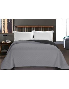 Prikrývka na posteľ DecoKing AXEL strieborná