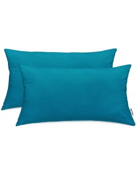 Povlaky na polštáře DecoKing Amber IIII modré