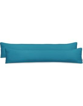 Povlaky na polštáře DecoKing Amber I modré