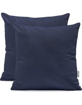 Povlaky na polštáře DecoKing Amber II modré