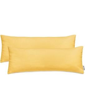 Povlaky na polštáře DecoKing Amber oranžové