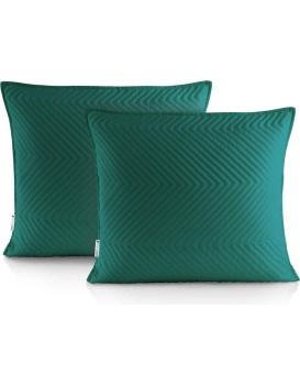 Povlaky na polštáře DecoKing Messli zelené