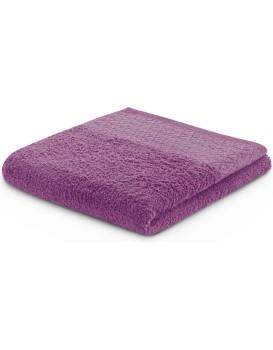 Bavlnený uterák DecoKing Andrea slivkový