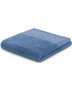 Bavlnený uterák DecoKing Andrea modrý