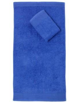 Bavlnený uterák Aqua 50x100 cm modrý