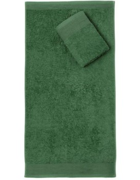 Bavlnený uterák Aqua 70x140 cm fľaškovo zelený