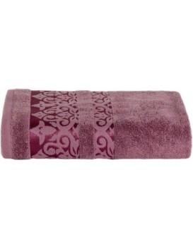 Bavlněný ručník Augustin 50x90 cm fialový