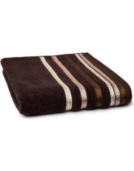 Bavlnený uterák Bianna 50x90 cm hnedý