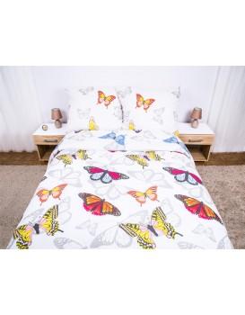 Bavlnená posteľná bielizeň Flanel 03A - 200x220 cm