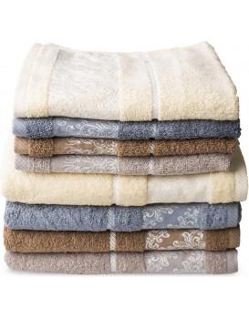 Bavlnený uterák Perla 50x90 cm béžový
