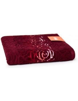 Bavlnený uterák Rosso 50x90 cm bordový