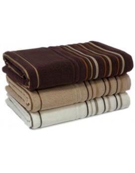 Bavlněný ručník Tao 50x90 cm bežový