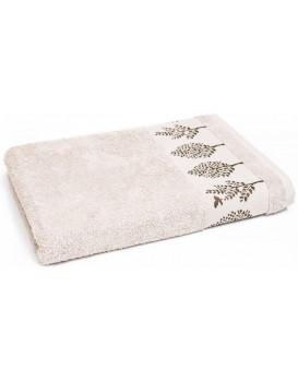 Bavlnený uterák Terra 50x90 cm béžový