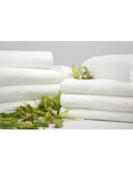 Bavlnený uterák Zefir 50x100 cm biely