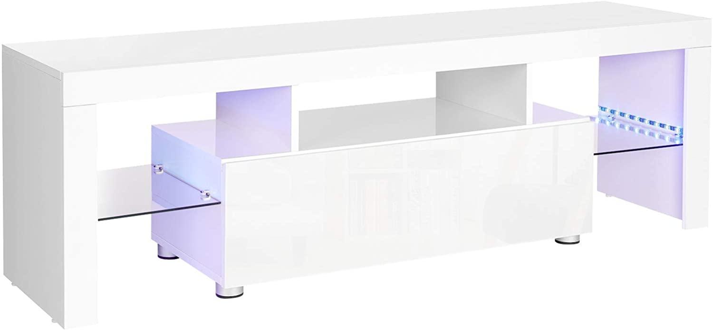 TV stolík Lia biely