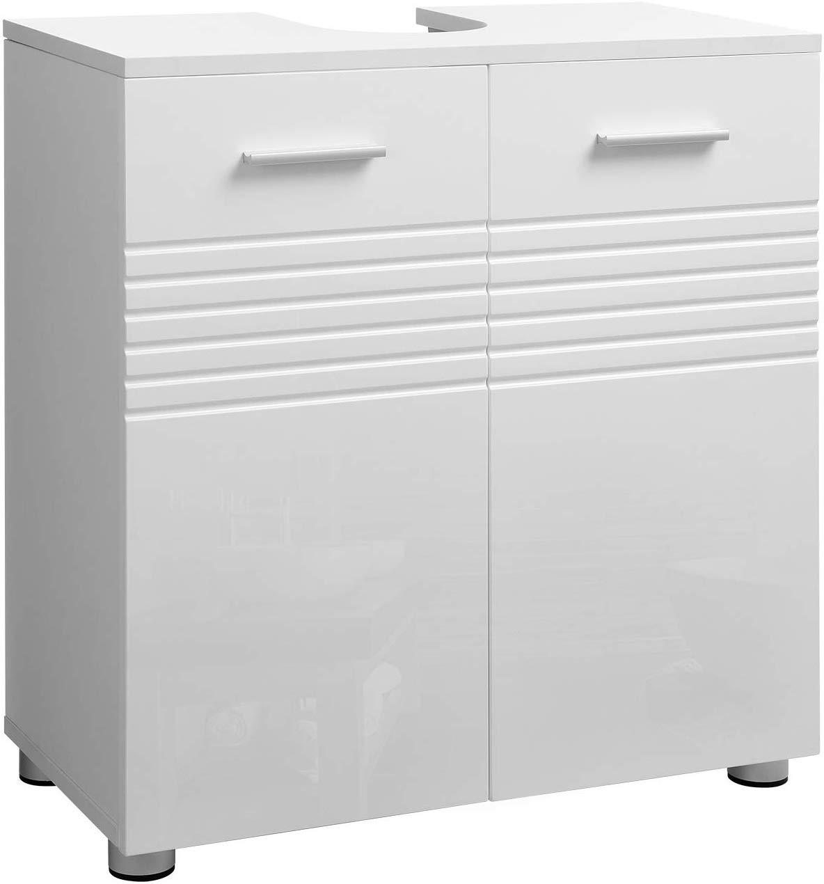 Umyvadlová skříňka VASAGLE POL bílá