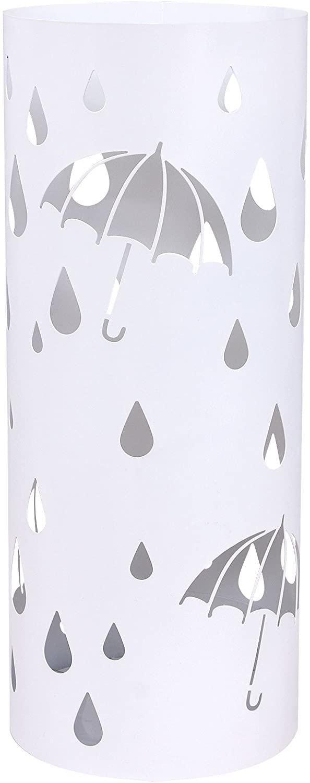 Stojan na deštníky Terra bílý