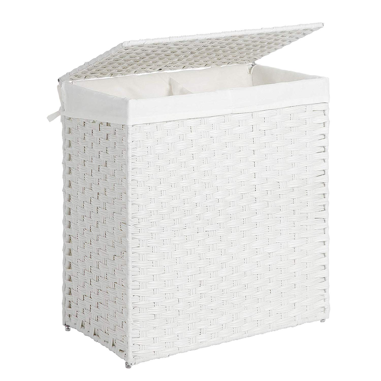 Koš na prádlo EDUARD 110 L bílý