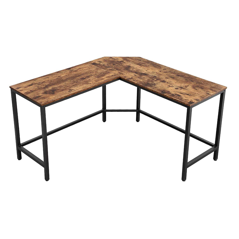 Rohový písací stôl VASAGLE ZEO