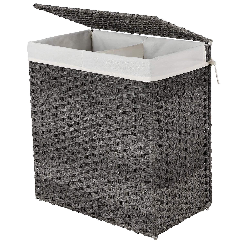 Koš na prádlo EDUARD 110 L šedý