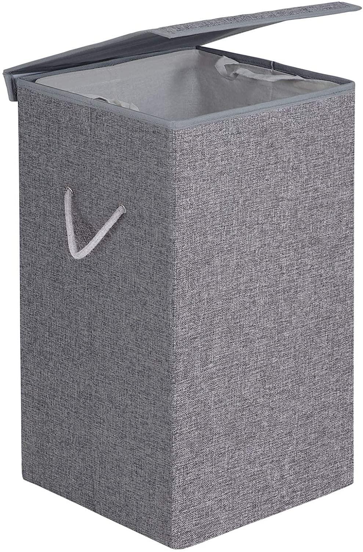 Koš na prádlo Jax šedý
