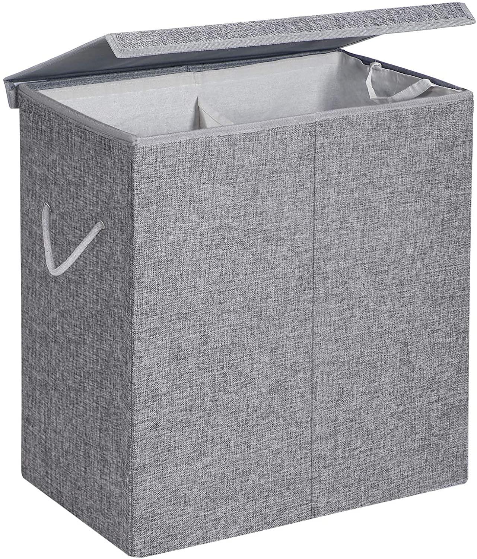Koš na prádlo Edgar šedý