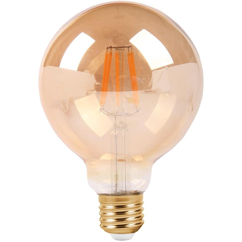 Dekorativní žárovka LED kulatá