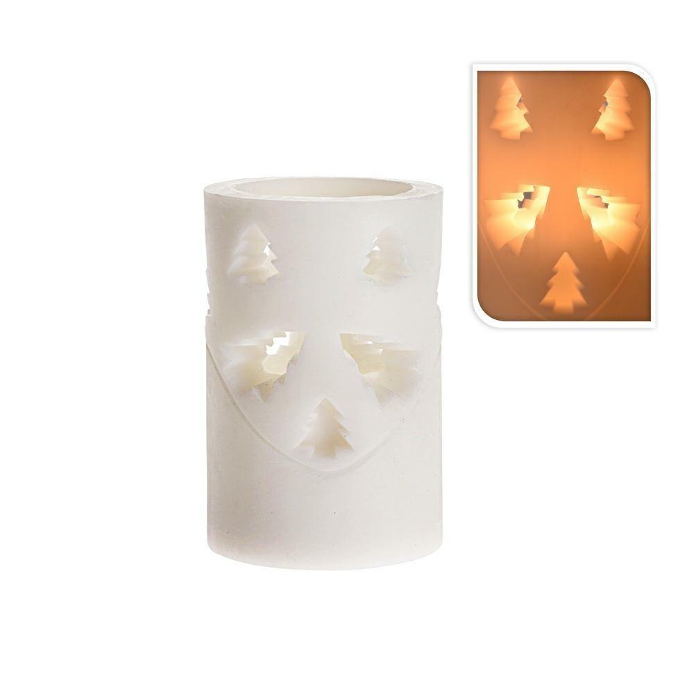 LED vianočná sviečka 10 cm STROMČEK