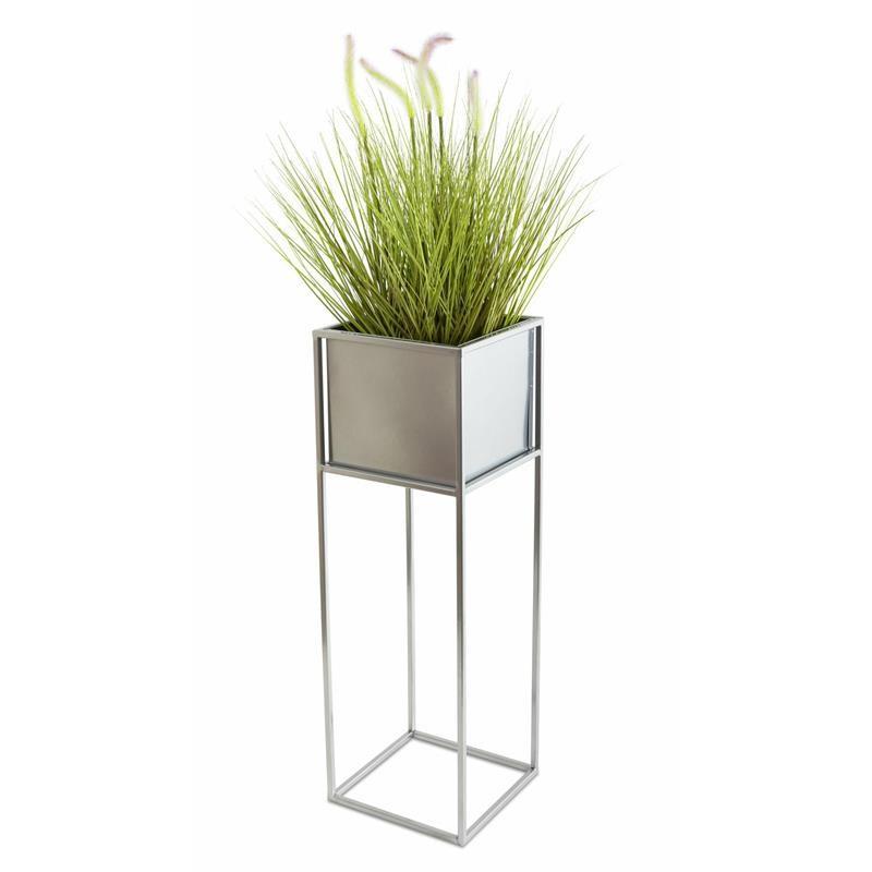 Květinový stojan GLORIA 70 cm chrom