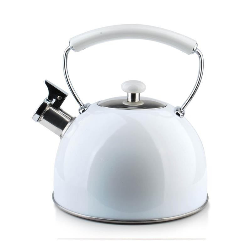 Konvice na čaj Modern 2,5L bílá