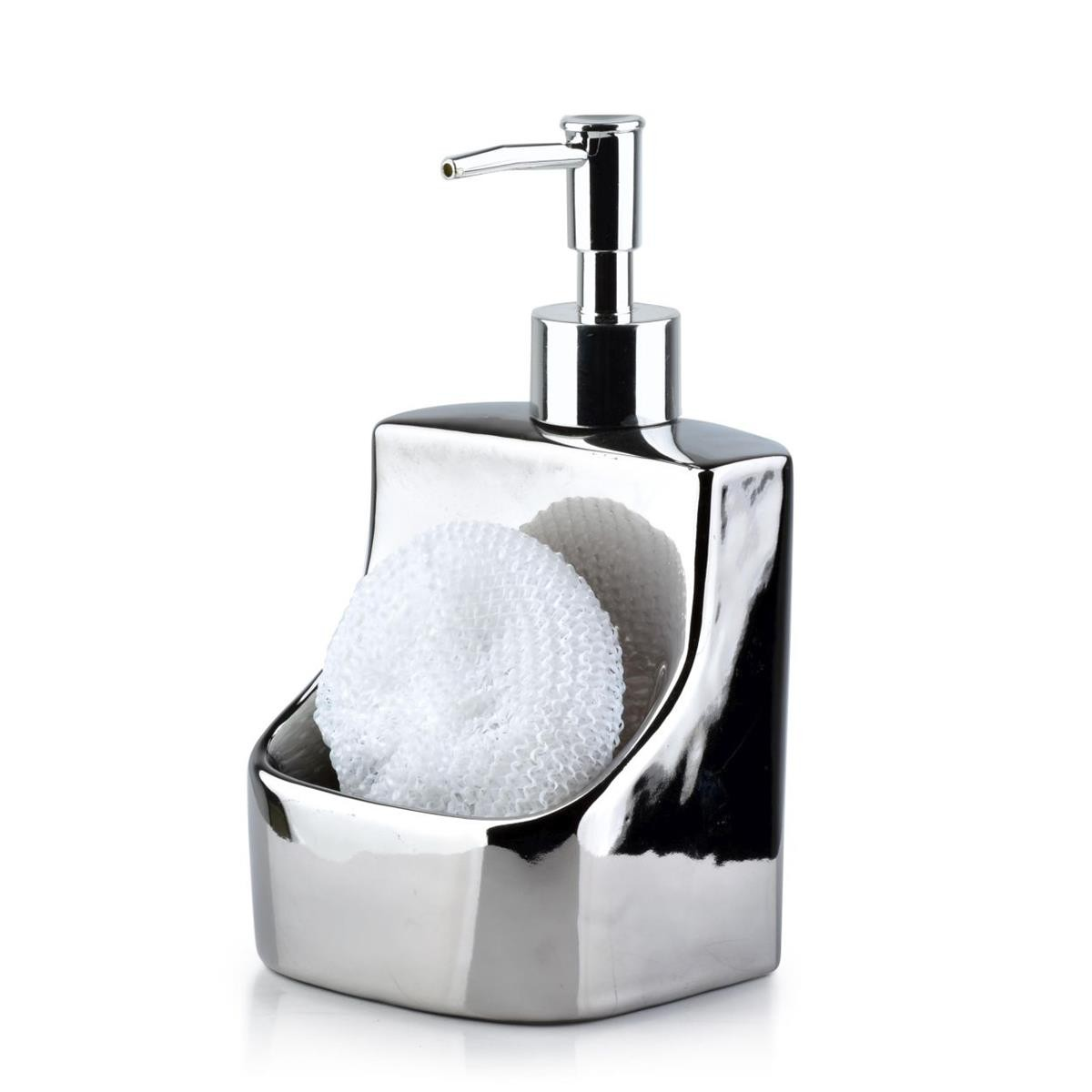 Dávkovač na mýdlo Armina 400 ml stříbrný