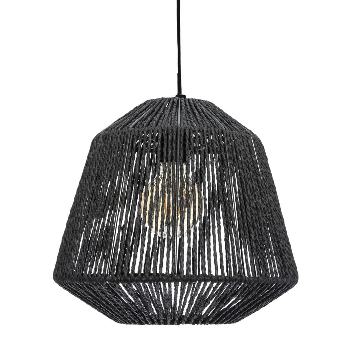 Stropní svítidlo Jily Black 29 cm