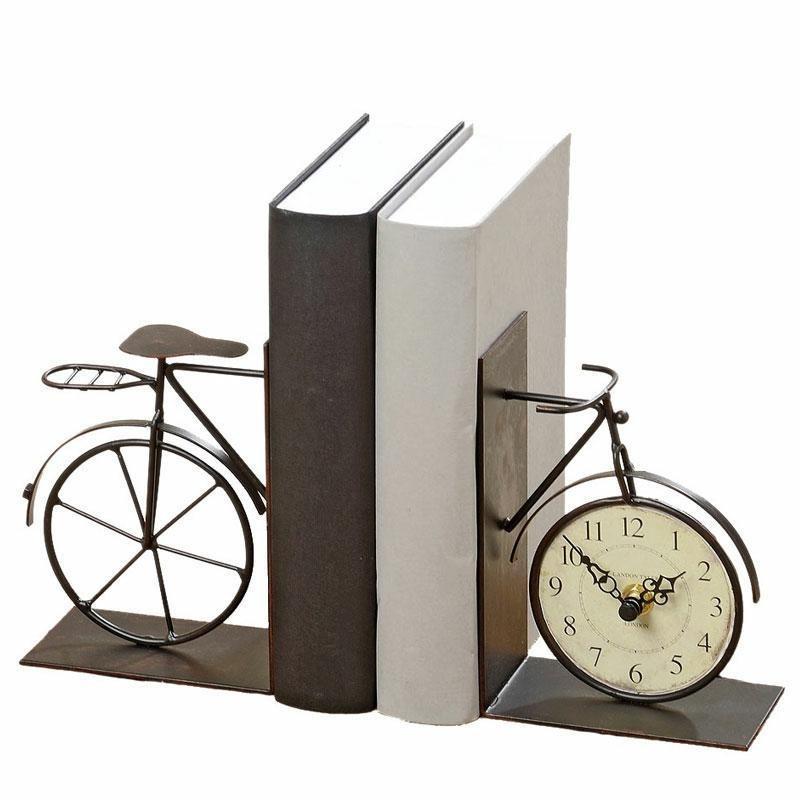 Zarážky do kníh BICYCLE čierne