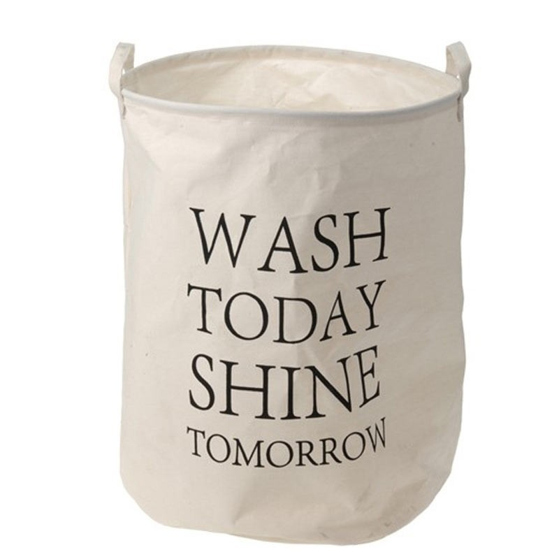 Koš na prádlo Tomorrow 40x50 cm ecru
