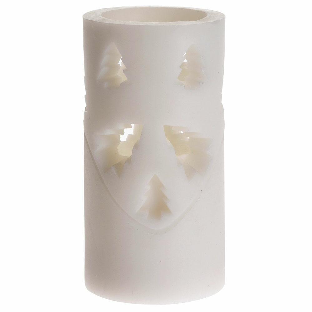 LED vianočná sviečka 15 cm STROMČEK