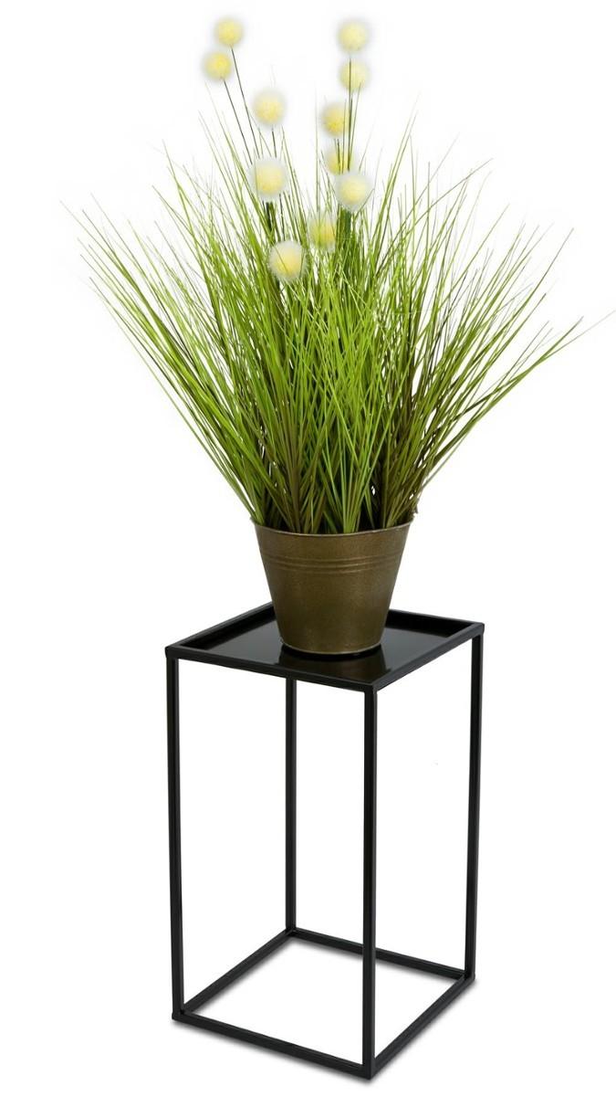 Stojan na květiny 40 cm černý