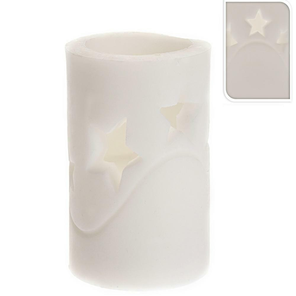 LED vianočná sviečka 15 cm HVIEZDA