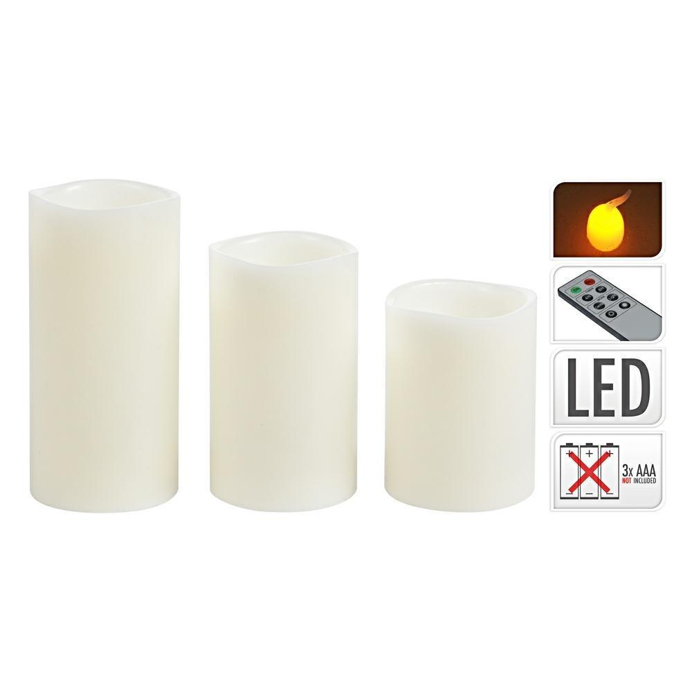 Súprava LED sviečok s ovládačom