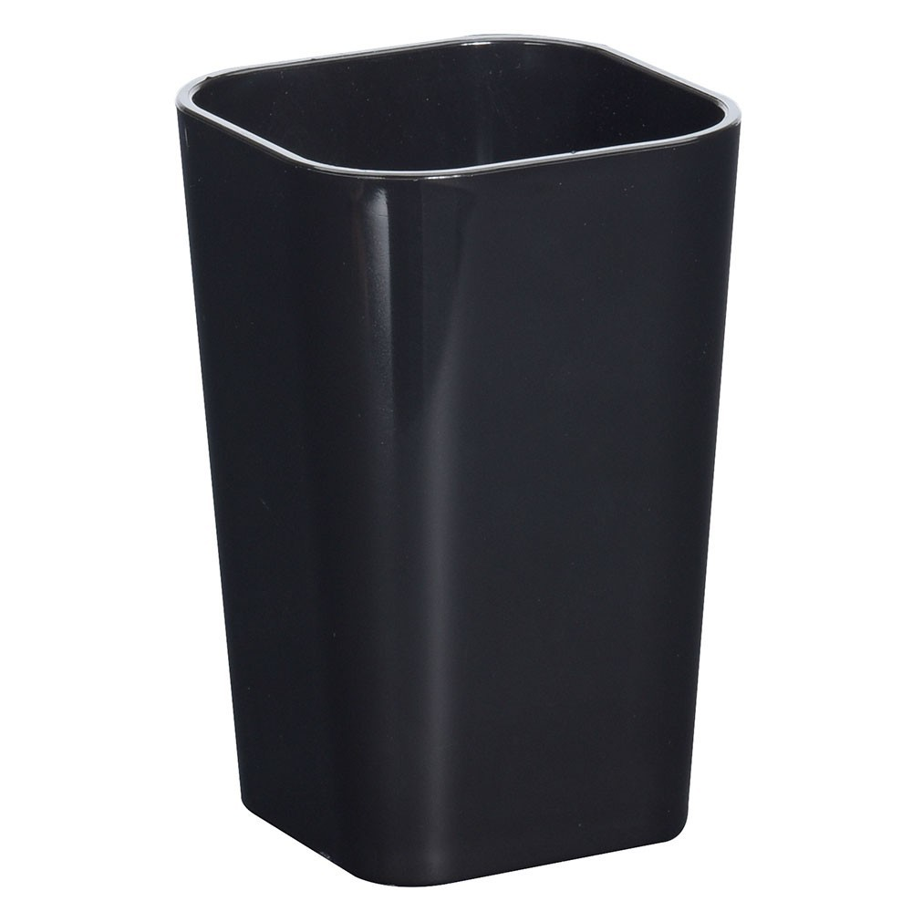 Kelímek do koupelny- černý