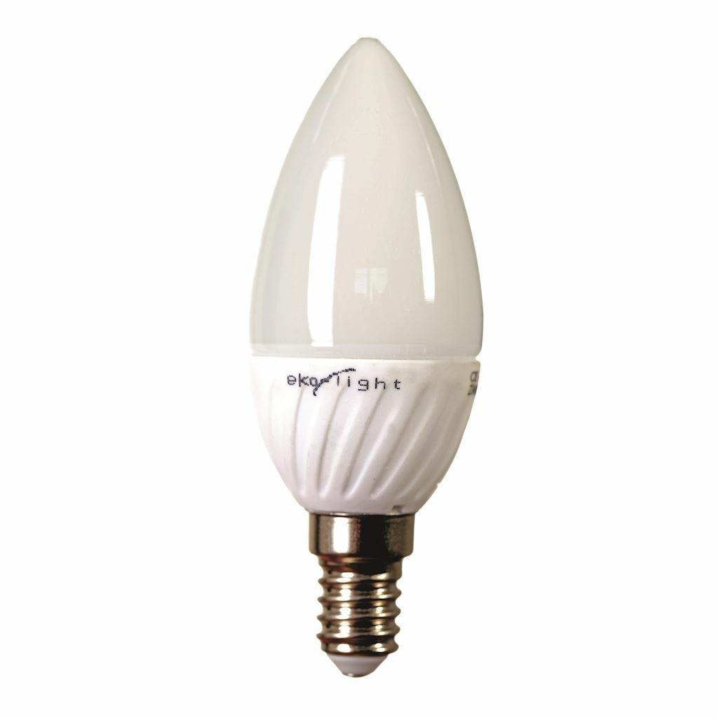 Žiarovka LED 7W E14 - teplá- sviečka