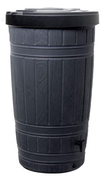 Sud na dešťovou vodu WOODMAN černý 265l