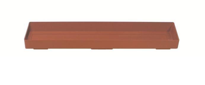 Miska pod truhlík ARGO terakota