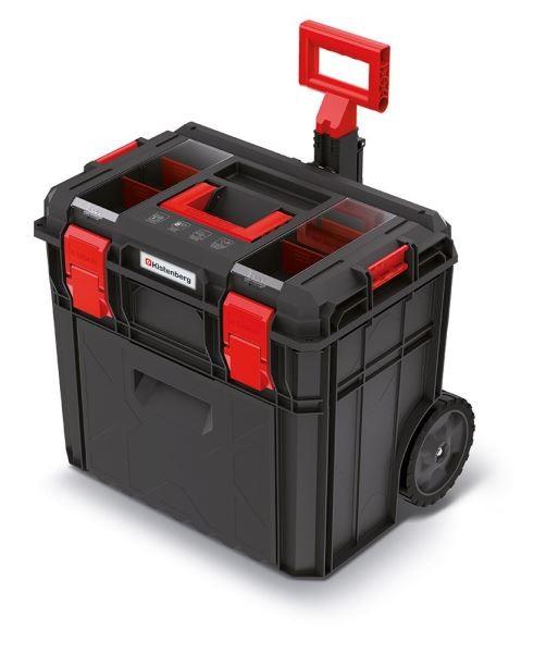 Kufr na nářadí X-BLOCK LOG 54,6x38x51 cm černo-červený